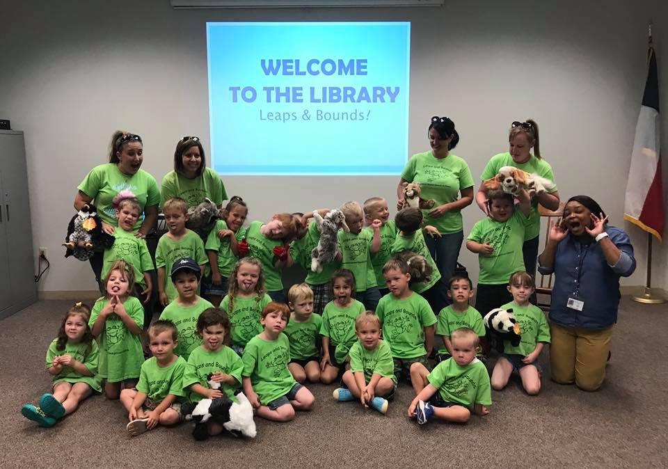 Leaps & Bounds Library visit